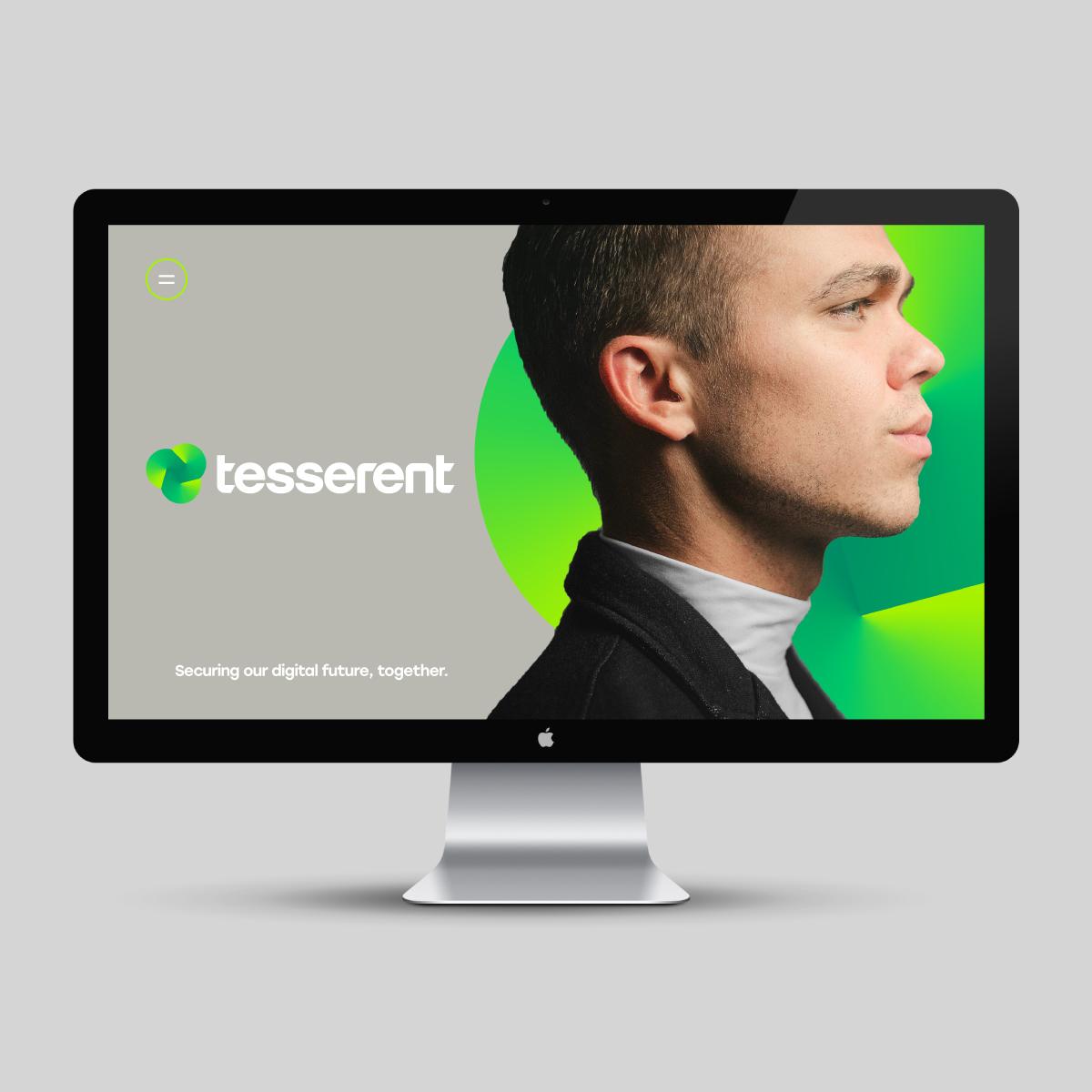 Tesserent Brand Identity Website