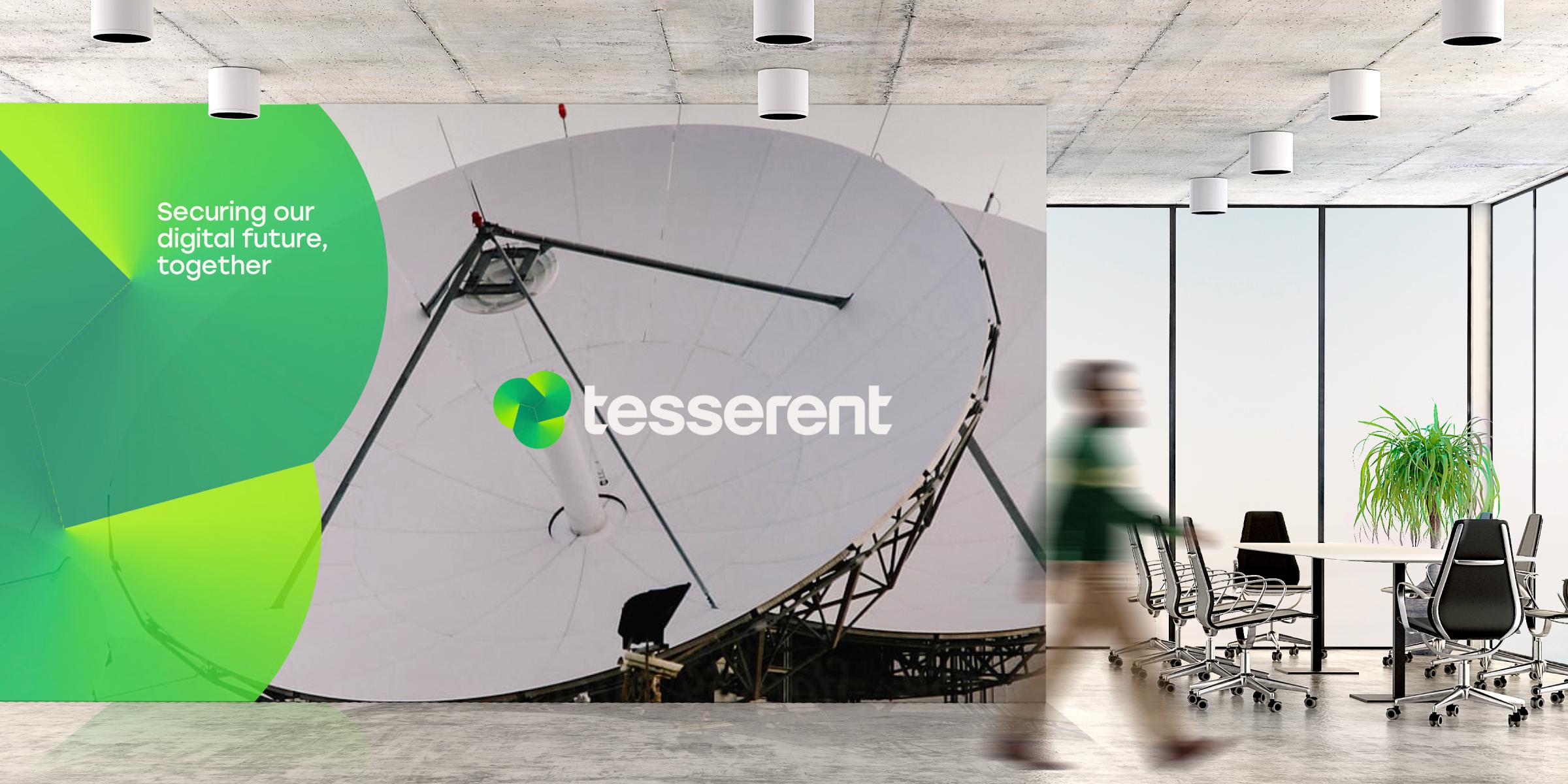 Tesserent Brand Identity Design Corporate Office Space