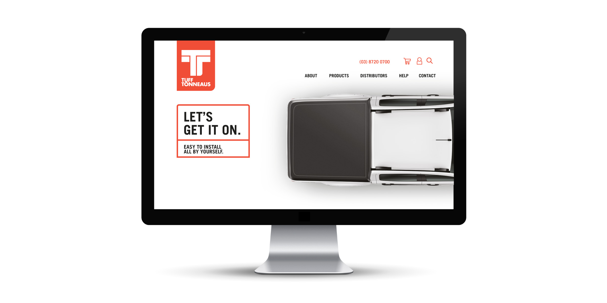 Tuff Tonneaus Website Design
