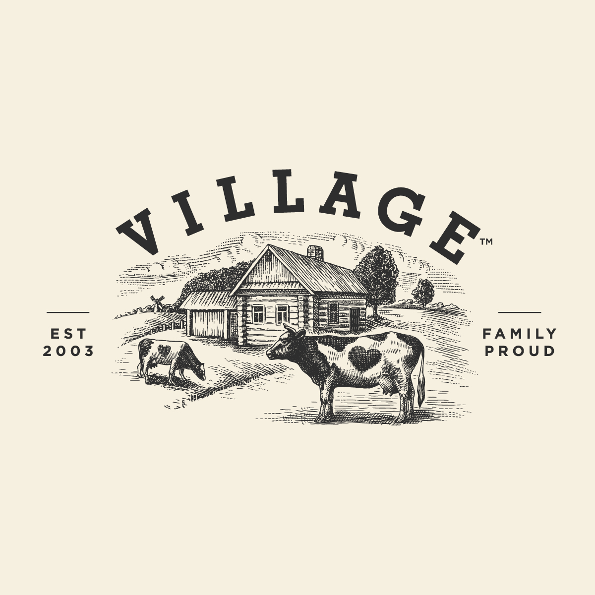 Village Yoghurt Package Design Refresh