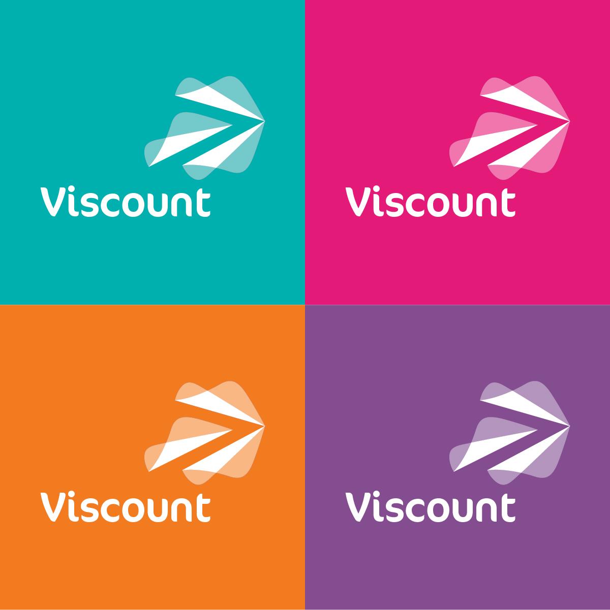 Viscount Plastics Corporate Brand Identity Design