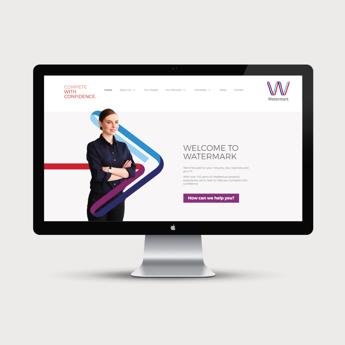 Watermark Brand Identity Website Design