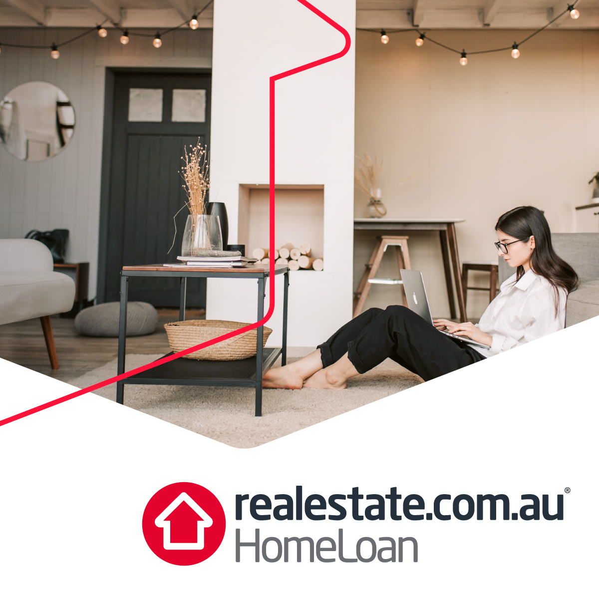REA Group Realestate.com.au Homeloan Brand Identity Design