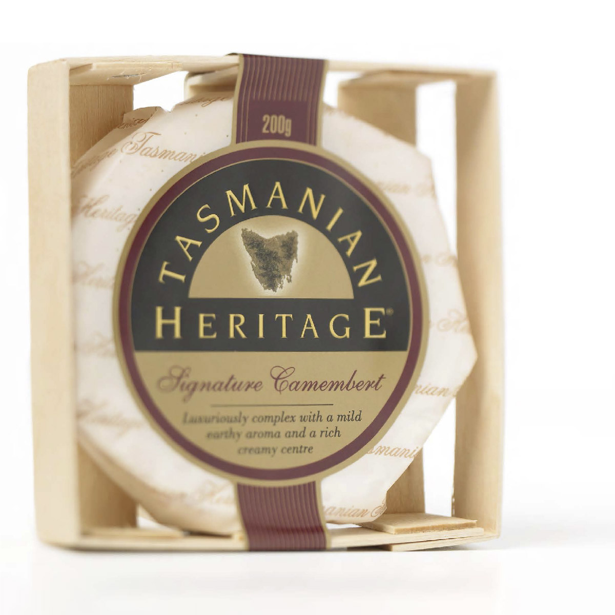 Tasmanian Heritage Cheese Packaging Design