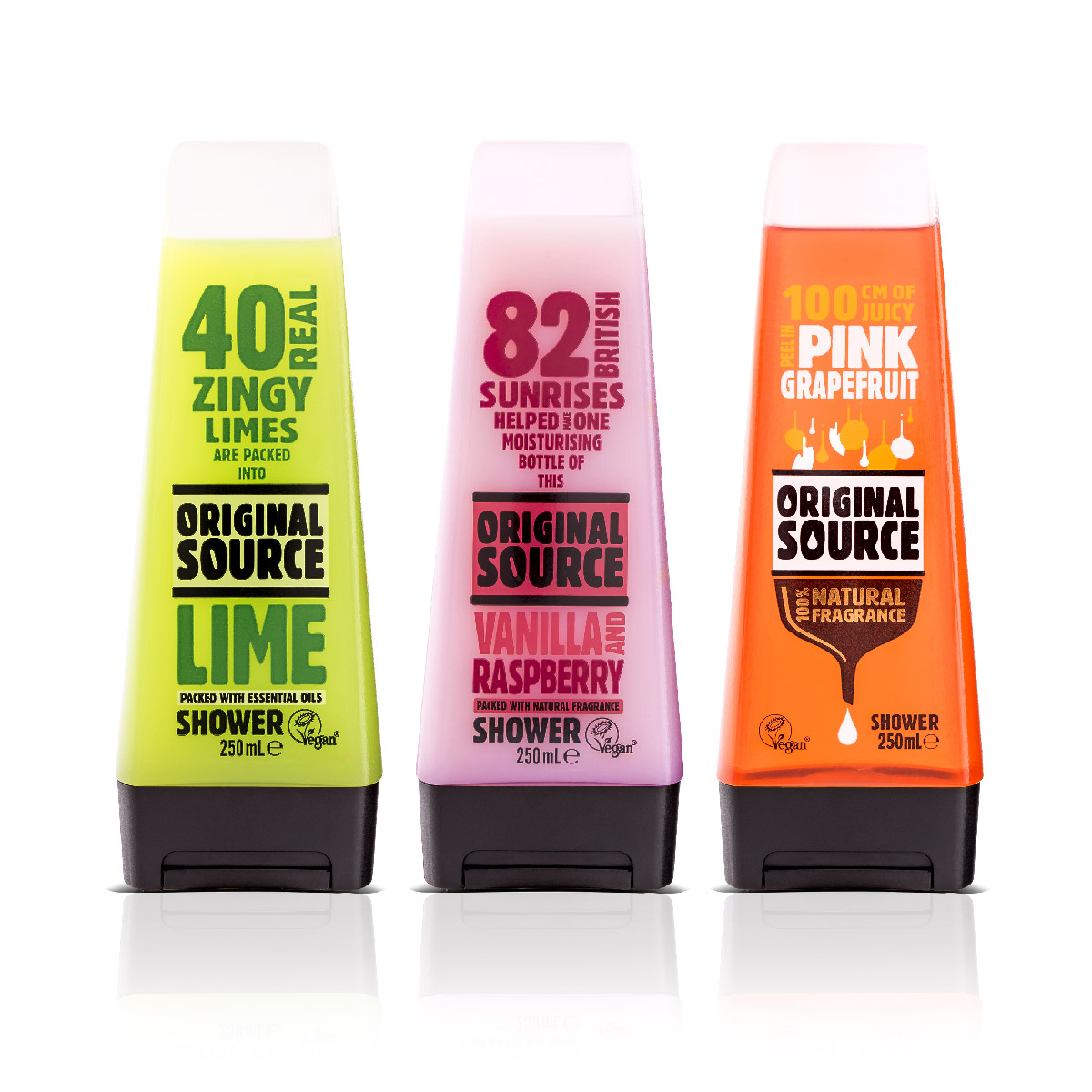 PZ Cussons Original Source Packaging Design