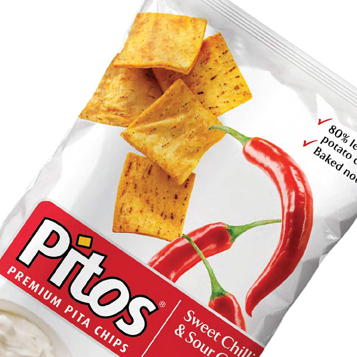 Pitos Premium Pita Chips Packaging Design