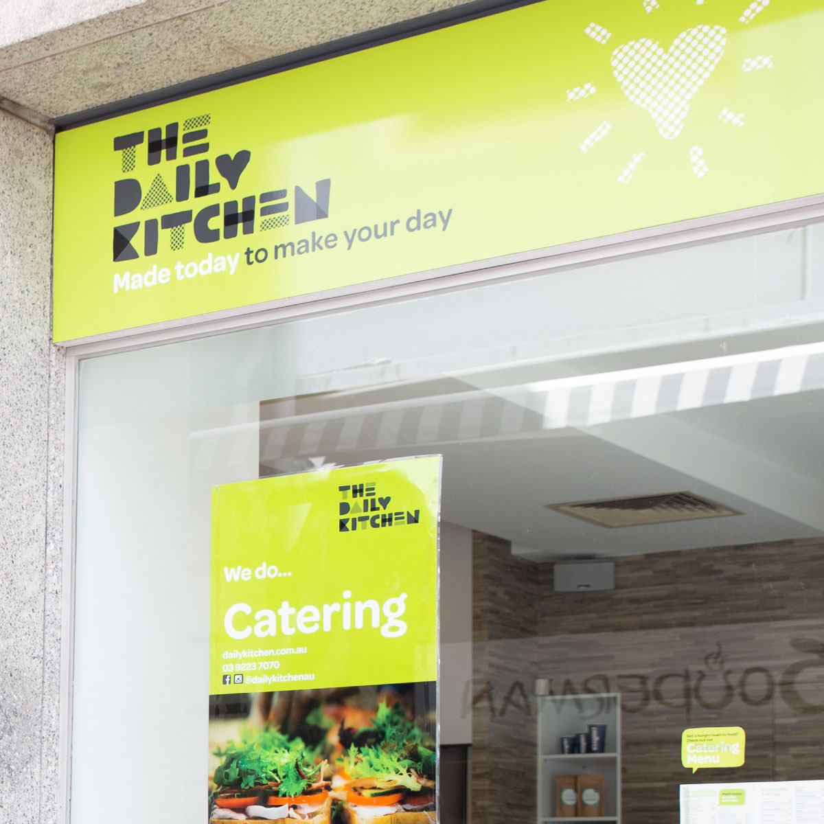 The Daily Kitchen Brand Identity Environmental Design