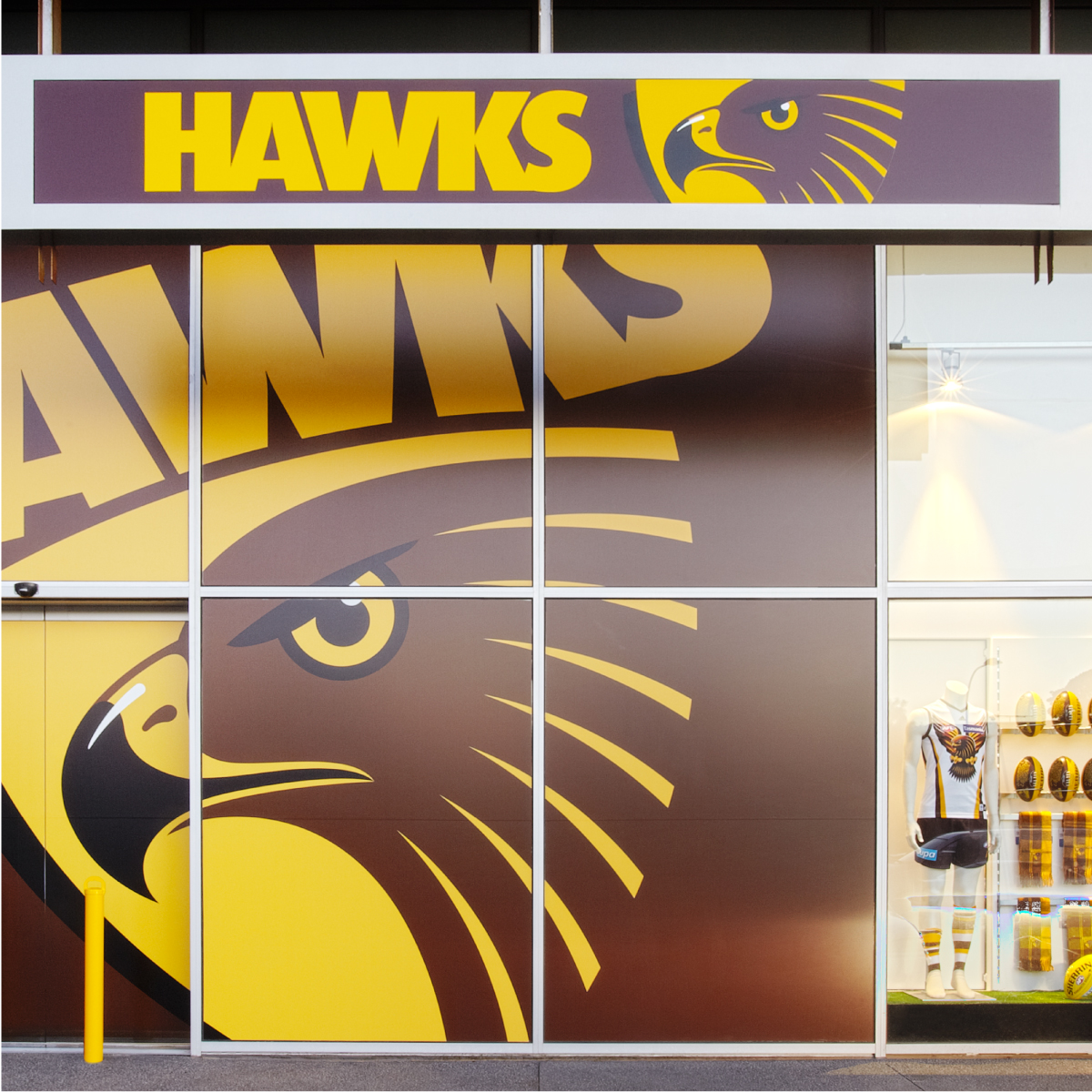 Hawthorn Football Club Retail Design