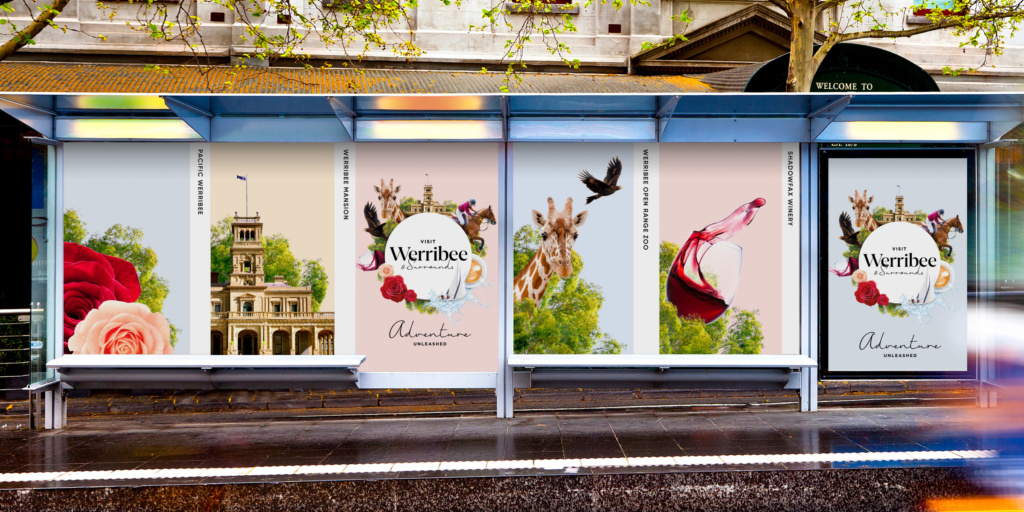 Visit Werribee & Surrounds Corporate Brand Identity Destinations