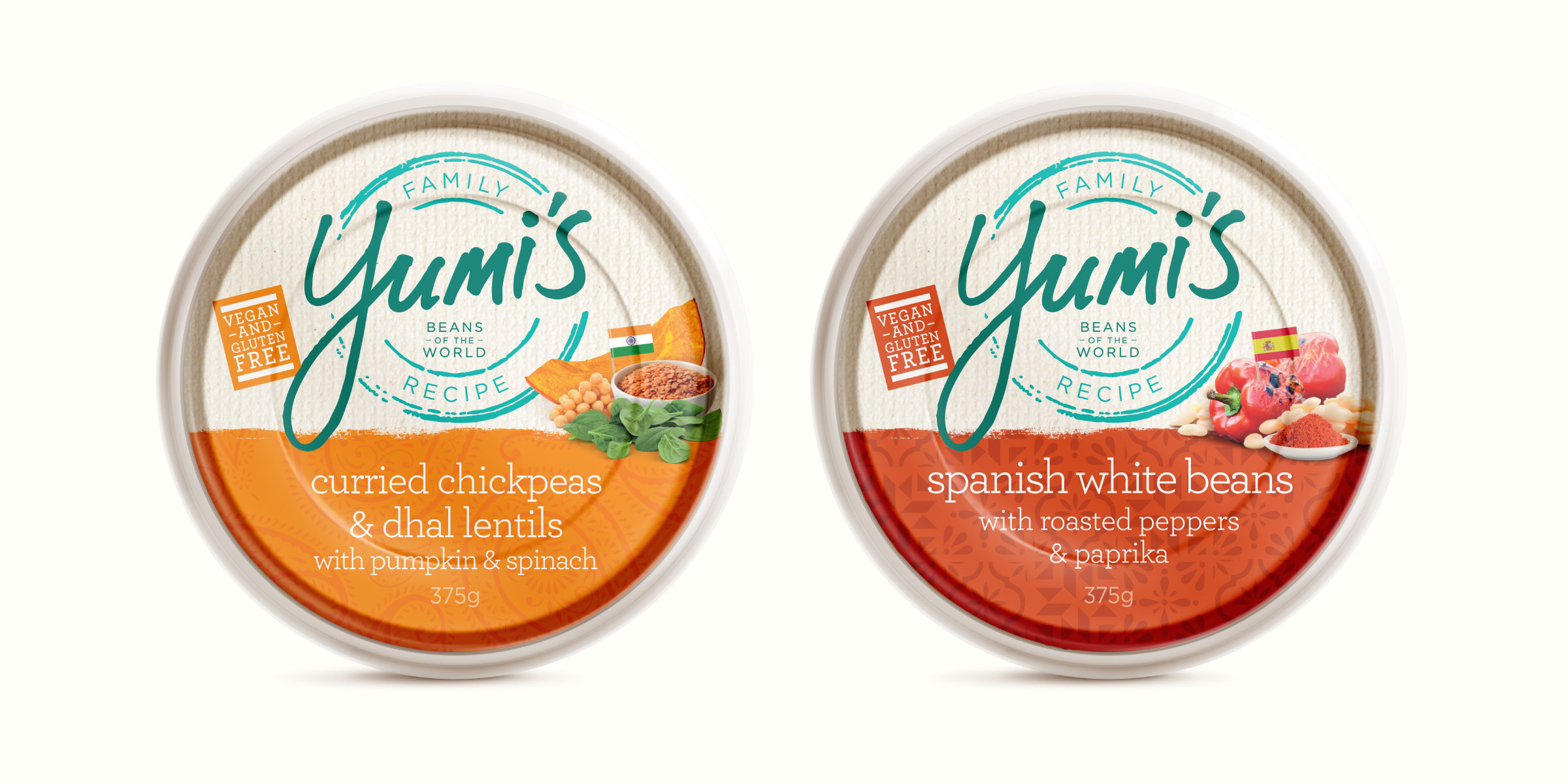 Yumi's Dips Brand Packaging Design
