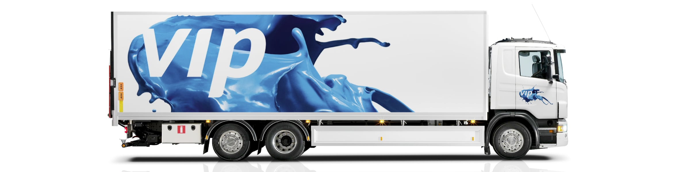 Davidson Branding VIP Packaging Corporate Brand Identity Logo Design Dynamic Vehicle Graphics Truck Livery Transport