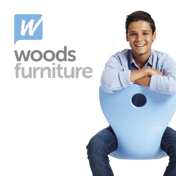 Davidson Branding Woods Furniture Boy Blue Chair Panto Flex