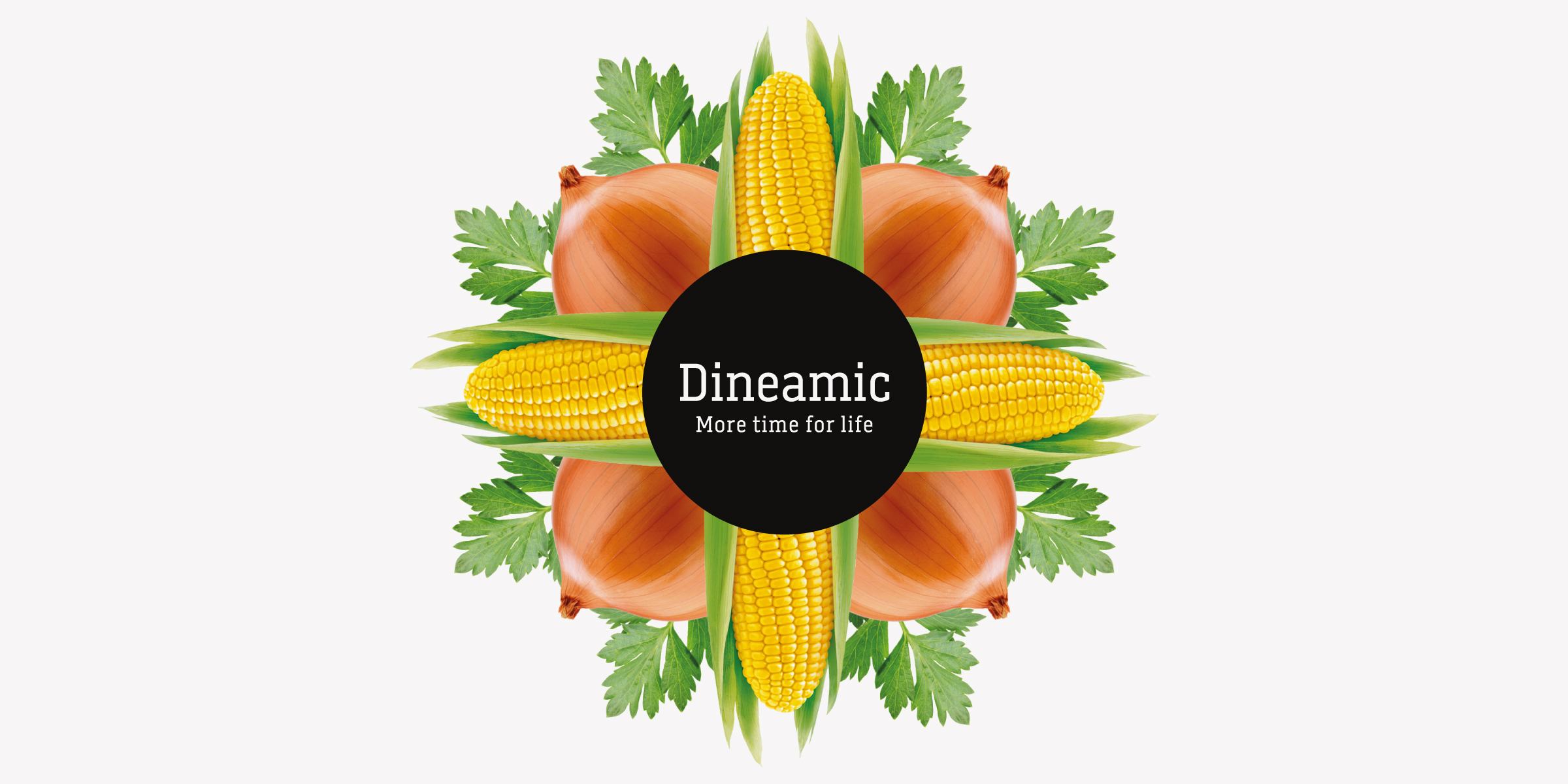 Davidson Branding FMCG Dineamic Packaging Visual Language Kaleidoscope Corn Onion Banner