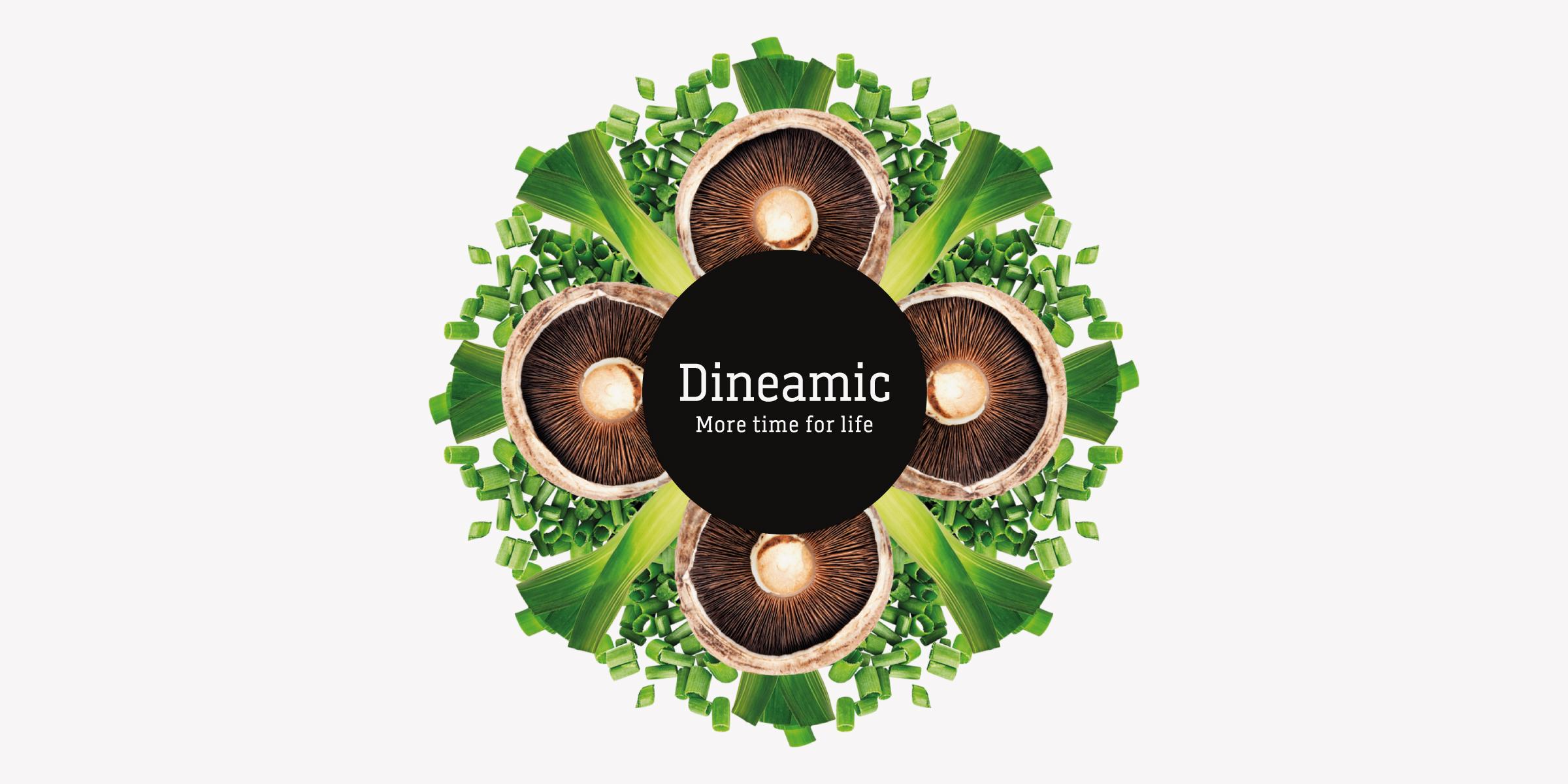 Davidson Branding FMCG Dineamic Packaging Visual Language Kaleidoscope Spring Onion Mushroom Banner