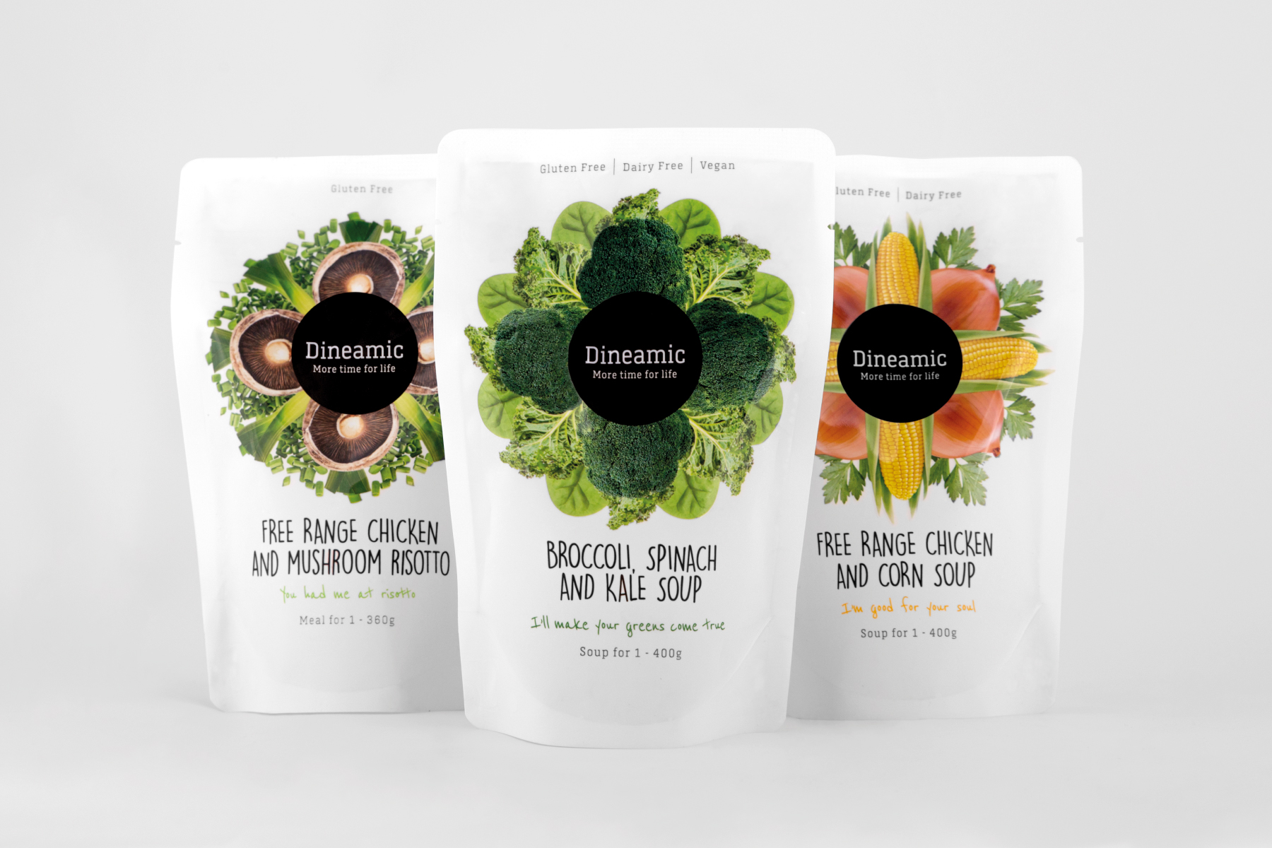 Davidson Branding FMCG Dineamic Packaging Visual Language Kaleidoscope Range Melbourne Design Studio