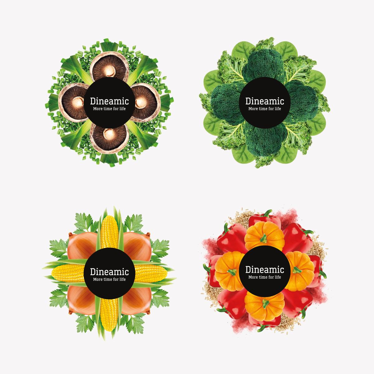 Davidson Branding FMCG Dineamic Packaging Visual Language Kaleidoscope Graphic Range