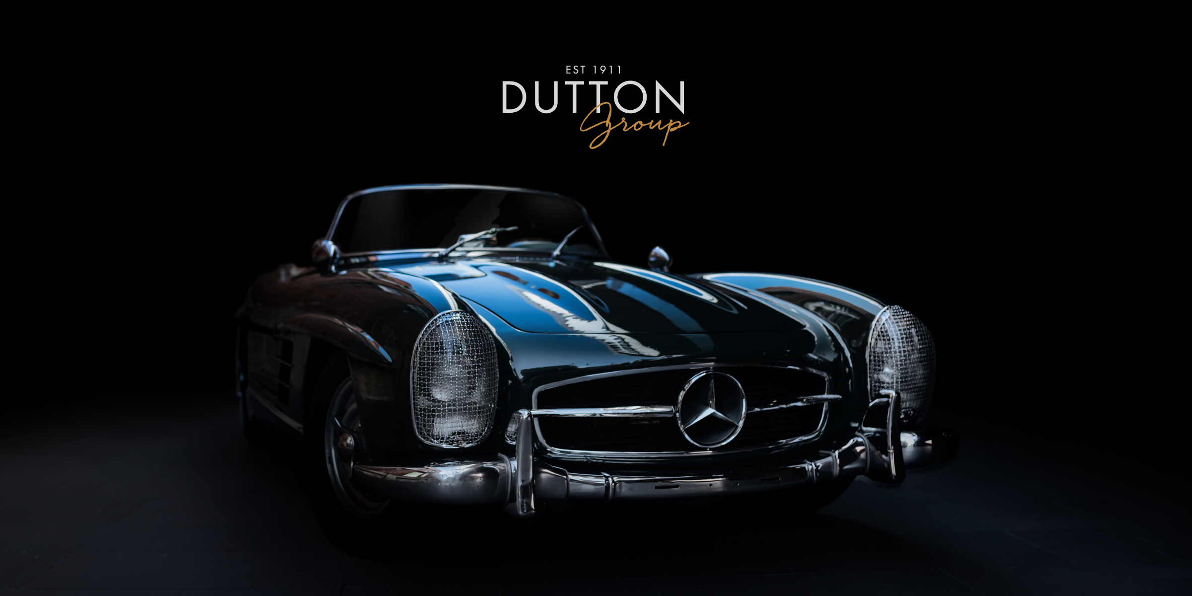 Davidson Branding Dutton Garage Vintage Mercedes Showcase