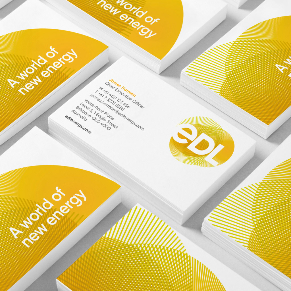 EDL Brand Identity Corporate Design Energy Renewable