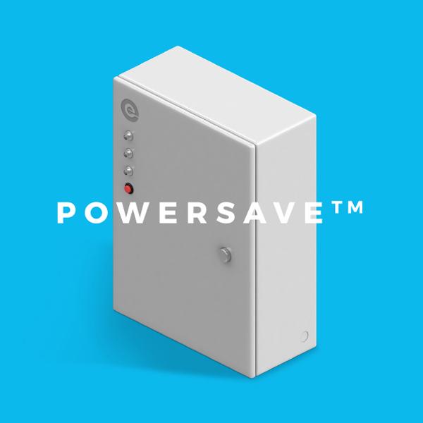 Davidson Branding Edge Electrons PowerSave 3D Render