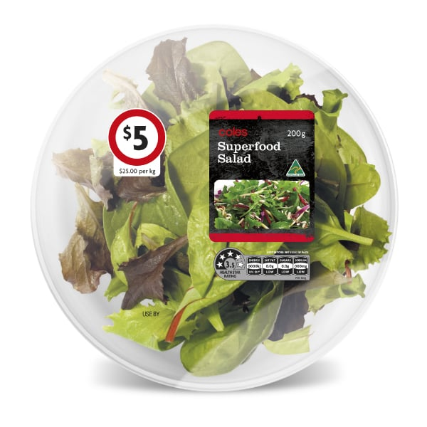 Davidson Branding FMCG Packaging Coles Superfood Salad
