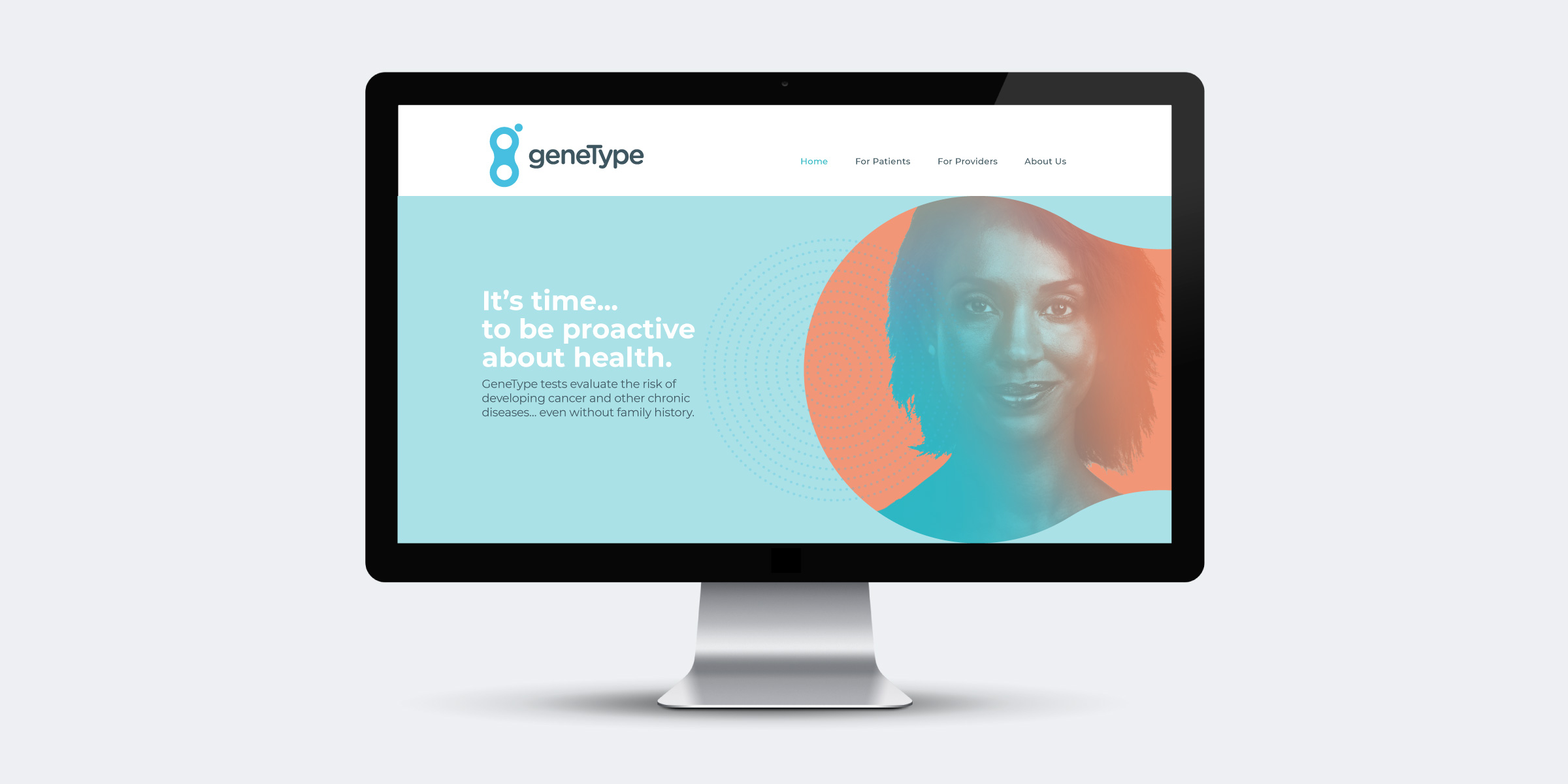 GeneType Website Design