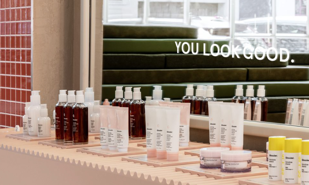 Glossier Seattle Retail Store