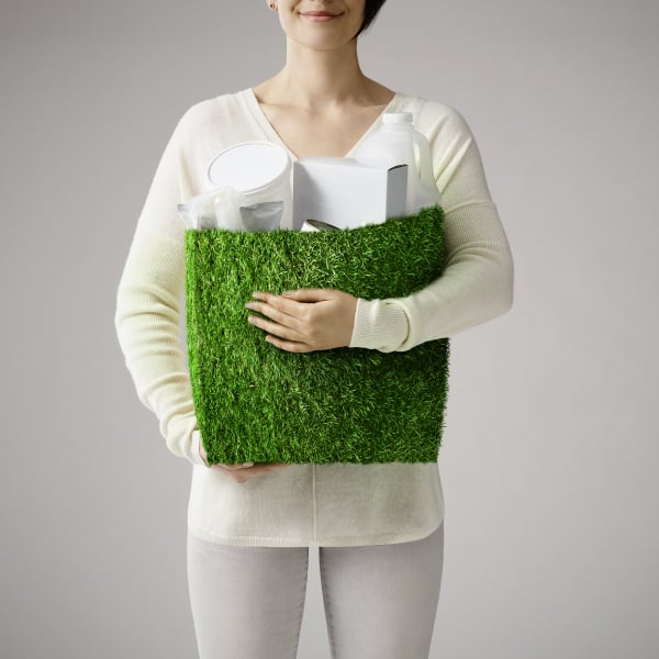 Davidson Branding We Grow Business Fast Moving Consumer Goods FMCG Packaging Grass Bag Square