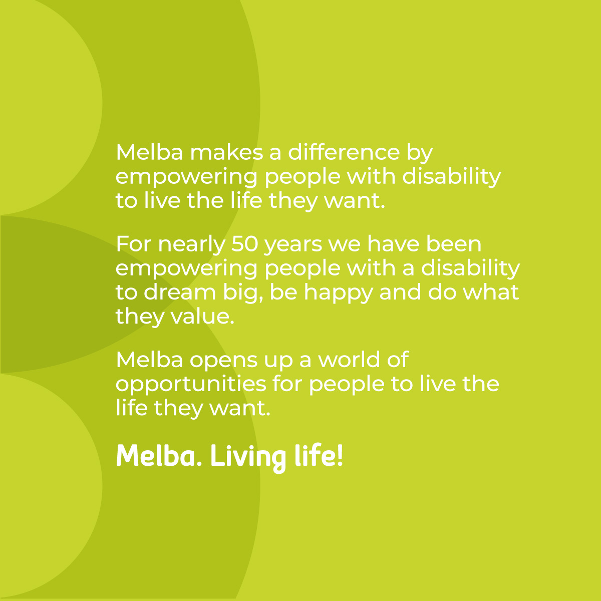 Melba Support Services Brand Strategy Story