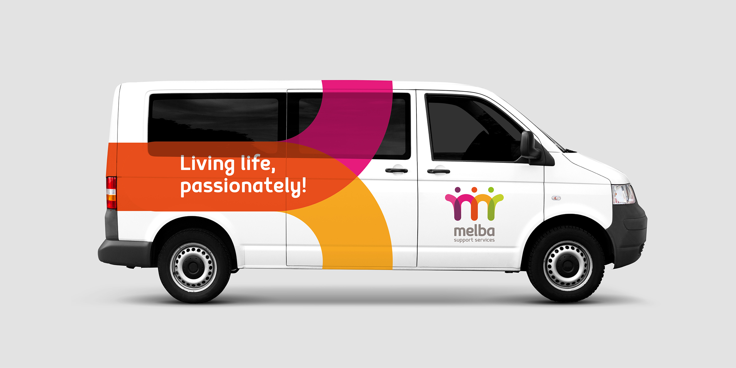 Melba Support Services Vehicle Signage