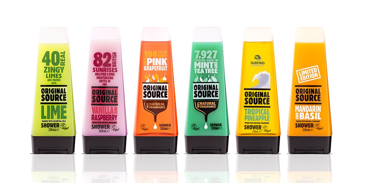 Davidson Branding FMCG PZ Cussons Original Source Range