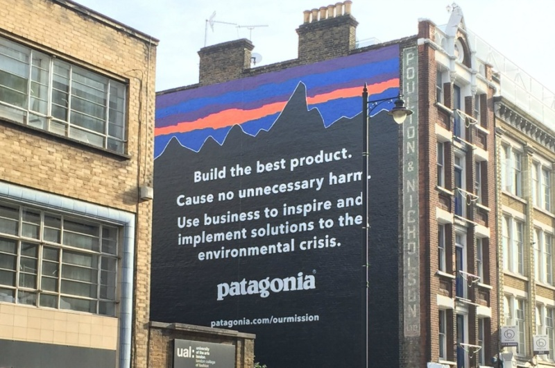 Patagonia Sustainable Brand Mission Statement
