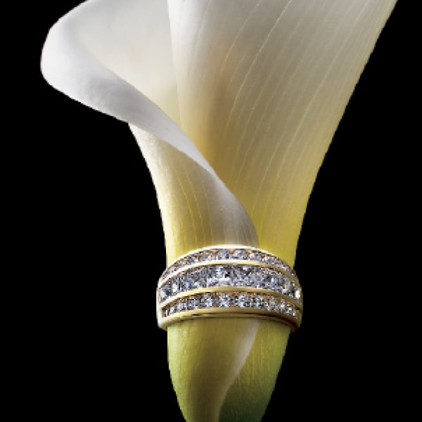 Davidson Branding Retail Secrets Shhh Ring Flower