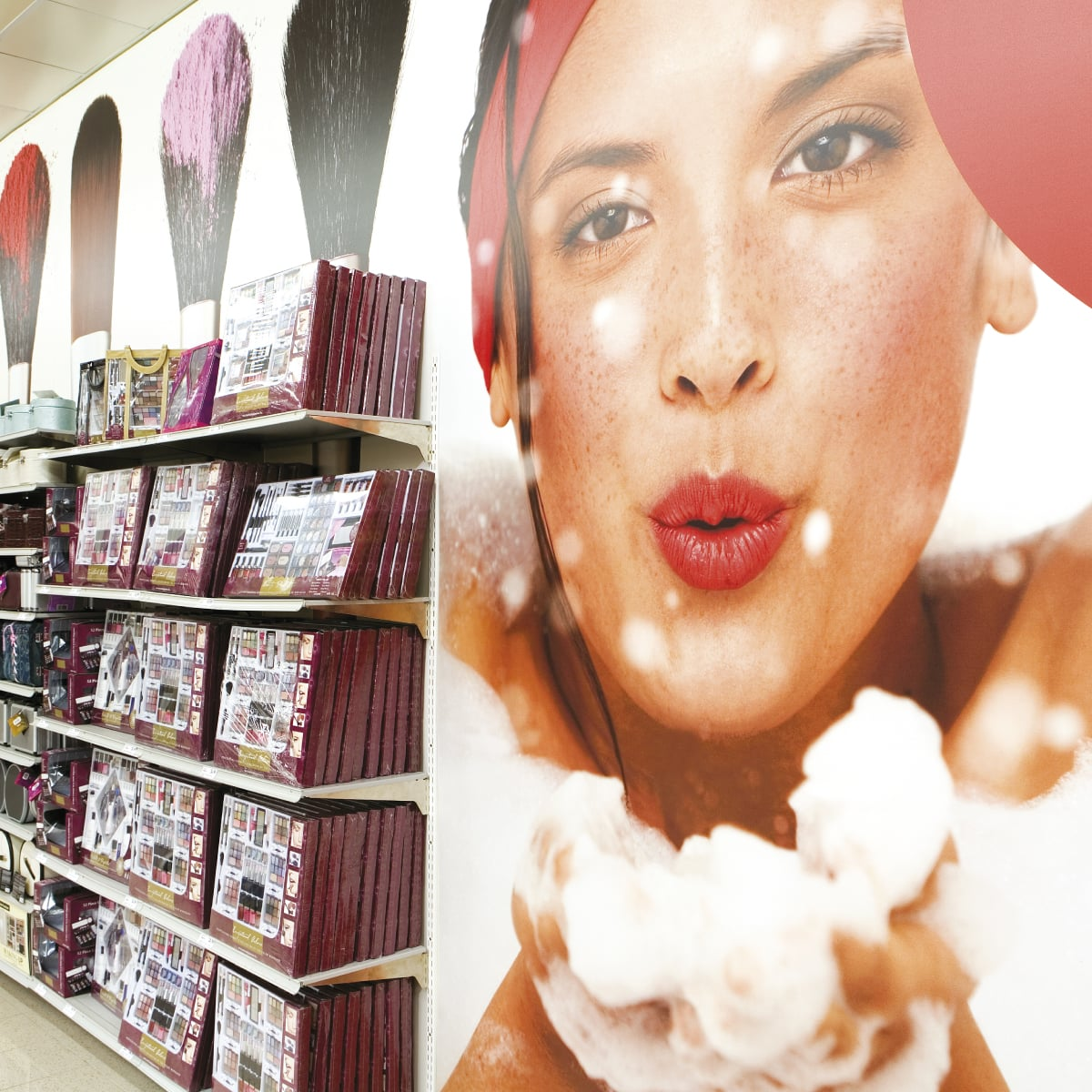 Davidson Branding Retail Target Store Shelving Photography