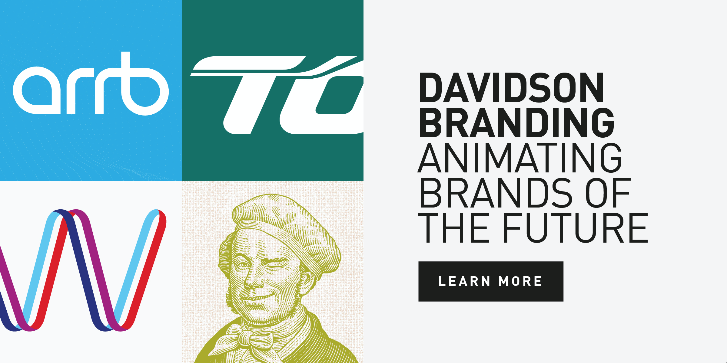 Davidson Branding Animated Identities Experience